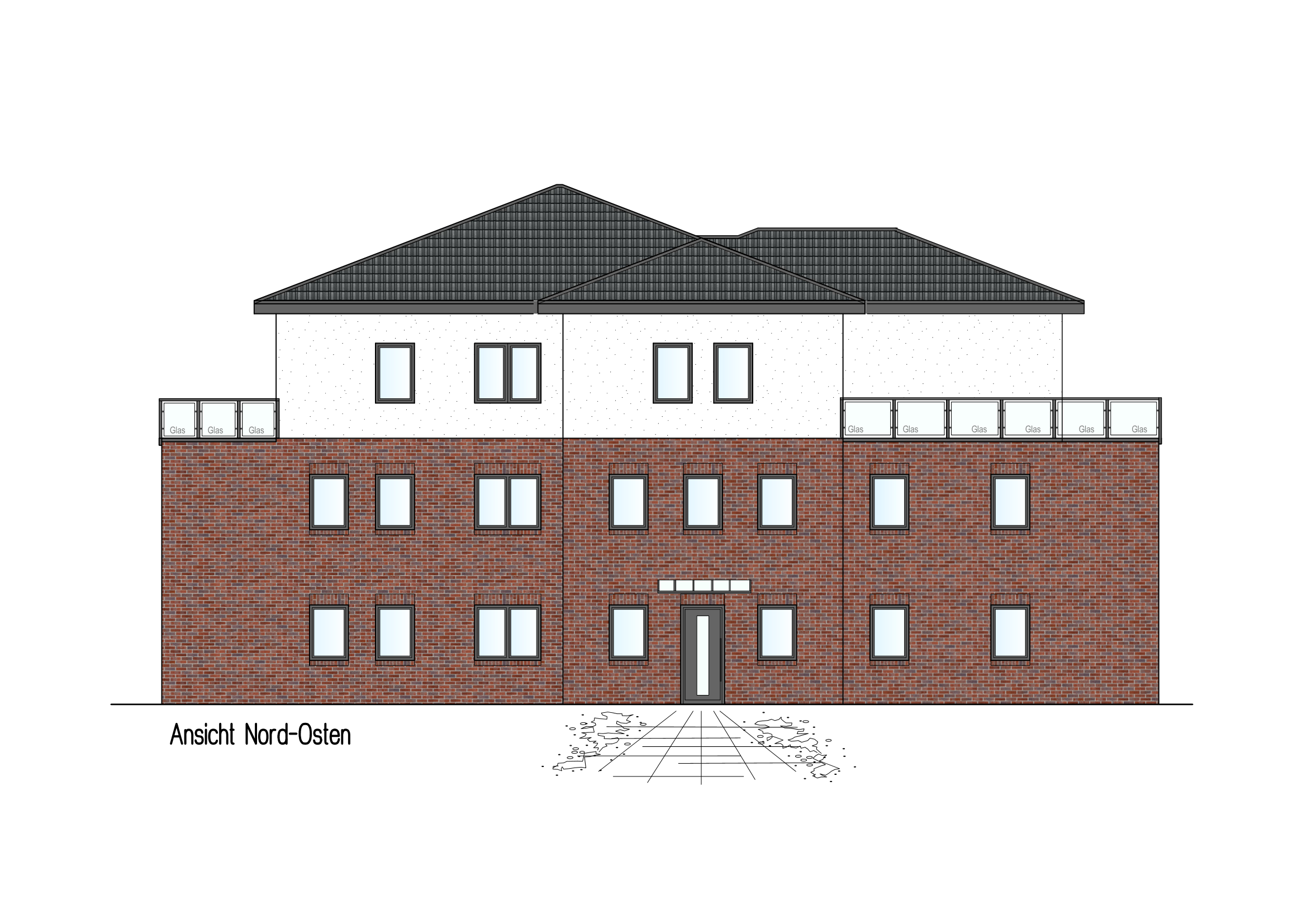 Exklusives Mehrfamilienhaus In Neuenkirchen Vörden Landwehr Bau Gmbh